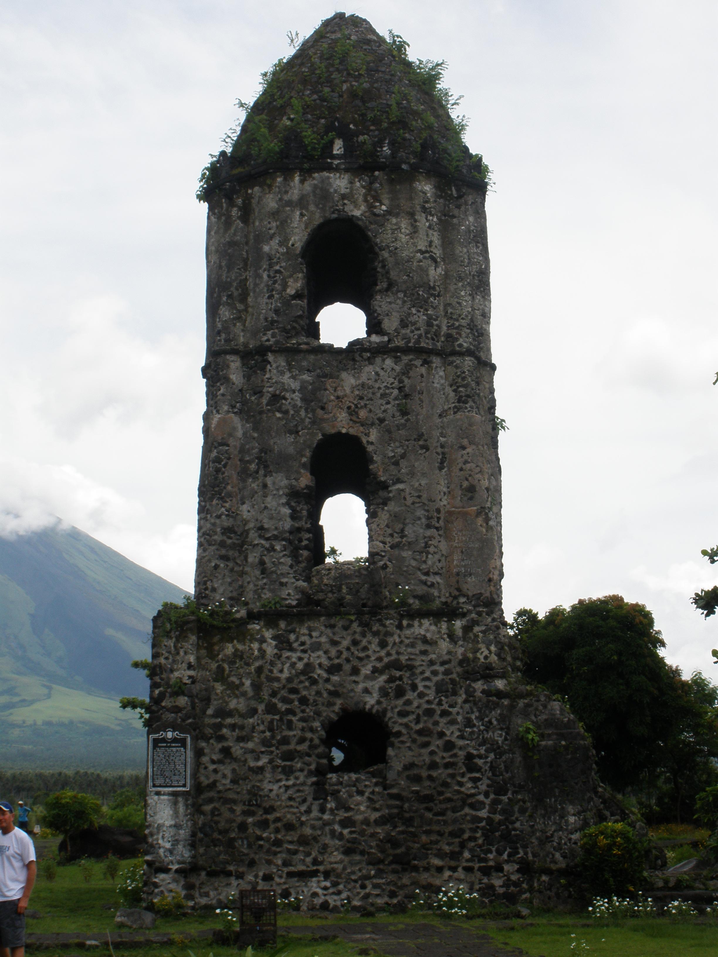 cagsawa ruins -Phillip Marzan